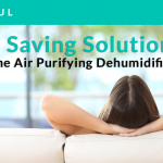 【Space Saving Solution】Two-in-One Air Purifying Dehumidifier